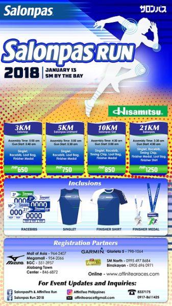 Salonpas Run 2018