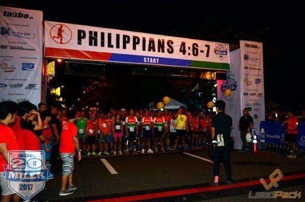 Takbo.ph 20 Miler 2017 Race Results
