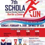 7th AmCham ScholaRUN 2018 3/5/10K (MOA)