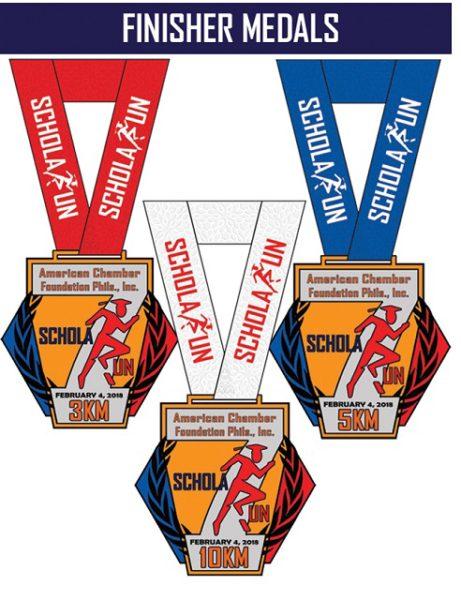 7th ScholaRUN 2018 Medal