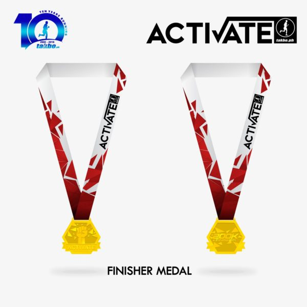 Activate 2018 Finisher Medal
