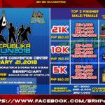 Republika Run 2018 5/10/21K (Bulacan)