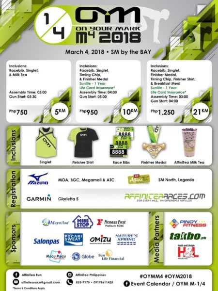 OYM M4 Quartlery Races 2018 Poster