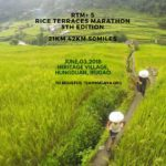 Rice Terraces Marathon 2018 21/42K/50Mi (Ifugao)