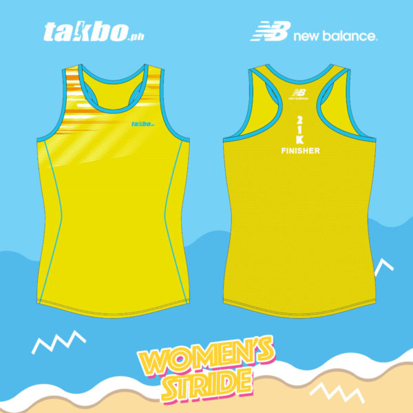 Takbo.ph Womens Stride 2018 Raceback Top