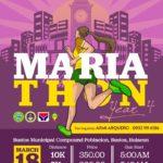Mariathon Year 4 2018 Poster