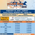 Stride for Hope @ 33 Foam Run for a Cause 2018 500m/1/3/5/10K (Taguig)