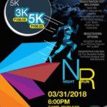 Night Run 2018 3/5K (Baguio)