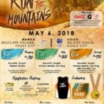Run for the Mountains 2018 3/5/10K (Pasay)