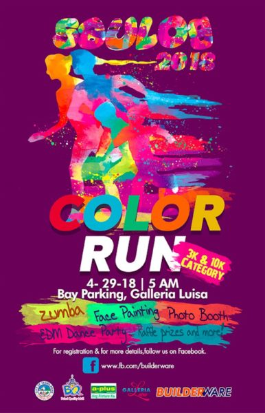 Saulog Color Run 2018 Poster