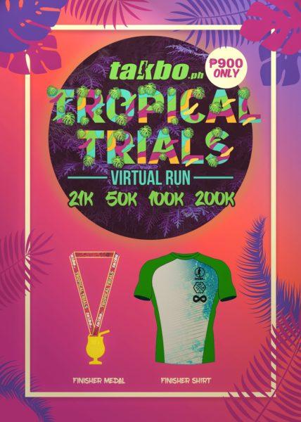 Tropical Trials Virtual Run 2018