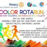 Color Rotarun 2018 5K (Laguna)