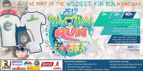 JCI Run Wet and Wild 2018 Poster
