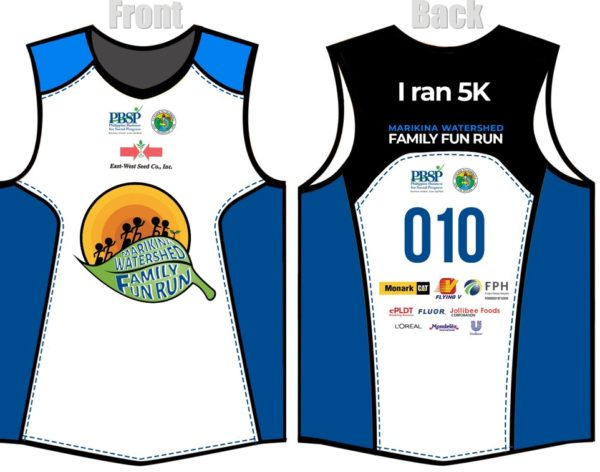 Marikina Watershed Family Fun Run 2018 Singlet