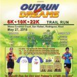 Outrun Your Dreams Trail Run 2018 Poster