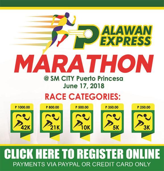 Palawan Express Marathon 2018 Online Link