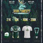 Run Forest Virtual Run 2018 Poster