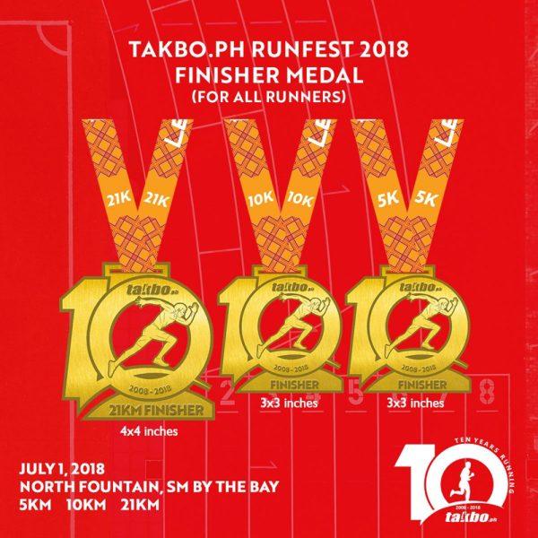 Runfest 2018 IG - Medal