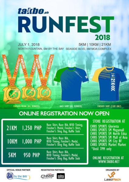 Runfest 2018 Poster Online Registration
