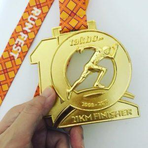 Runfest 2018 medal
