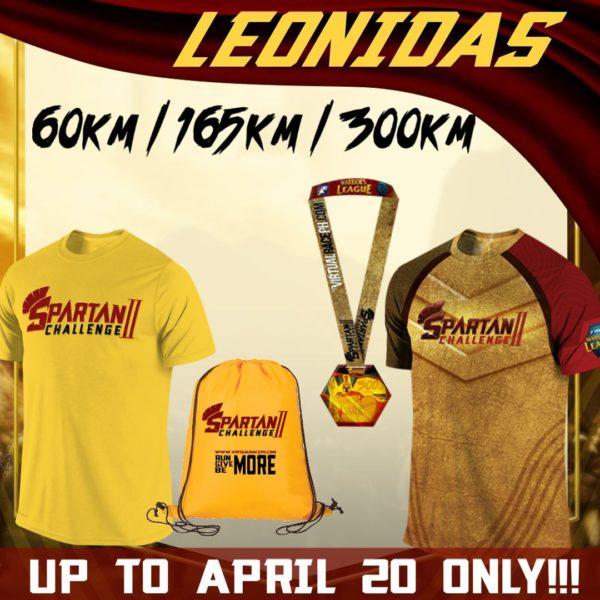 Spartan Challenge II 2018 Leonida Pack