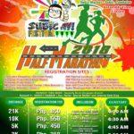 Subic-Ay! Half Marathon 2018 Poster