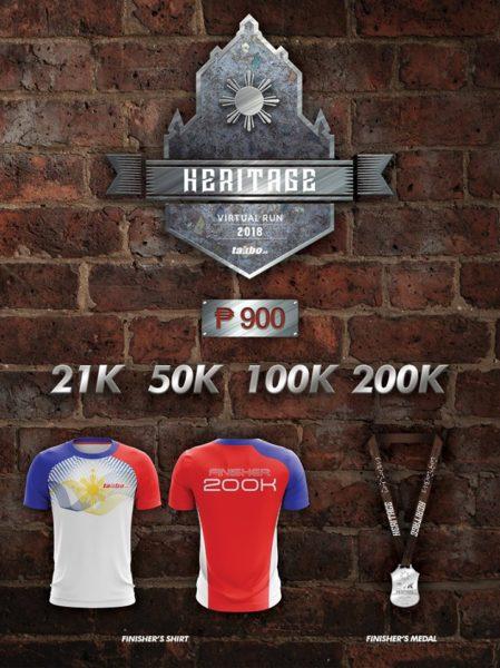 Heritage Virtual Run 2018