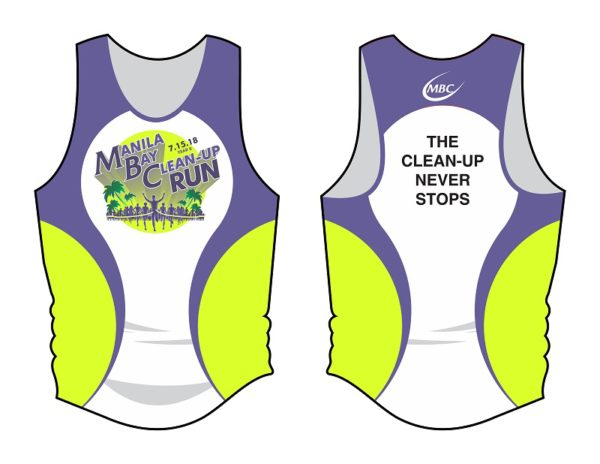 Manila Bay Clean Up Run 2018 Singlet