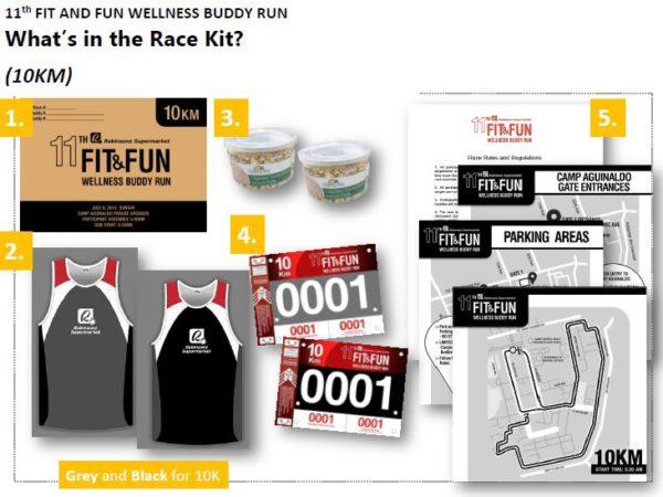 Robinsons Buddy Run 2018 10K Singlet