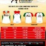 Robinsons Tagaytay Summer Run 2018 3/5/10/21K (Tagaytay)