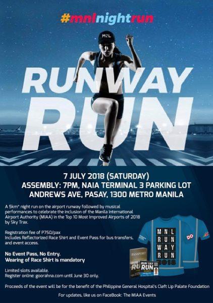 MNL RunWay Run 2018