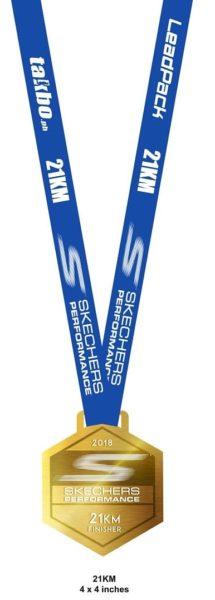 Skechers Performance Run 2018 Medal