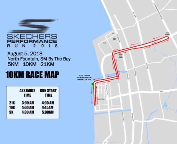 Skechers Run 10KM Route R01