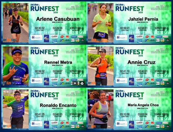takbo.ph runfest 2018 certificates