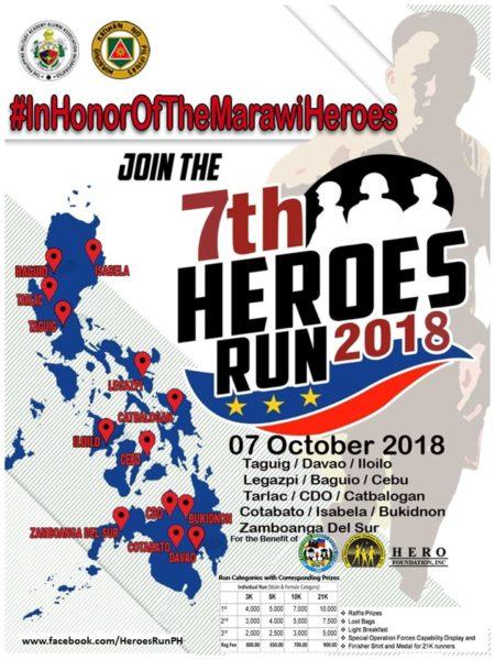 7th Heroes Run 2018