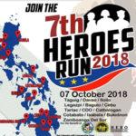 7th Heroes Run 2018 3/5/10/21K