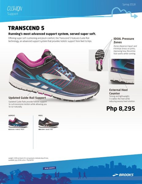 Brooks Transcend 5 Shoe Review
