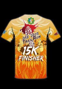 DSB Trail Run 2018 Finisher Shirt