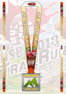 DSB Trail Run 2018 Medal