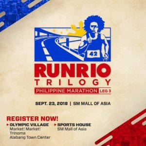 RunRio Trilogy Leg 3 Philippine Marathon 2018