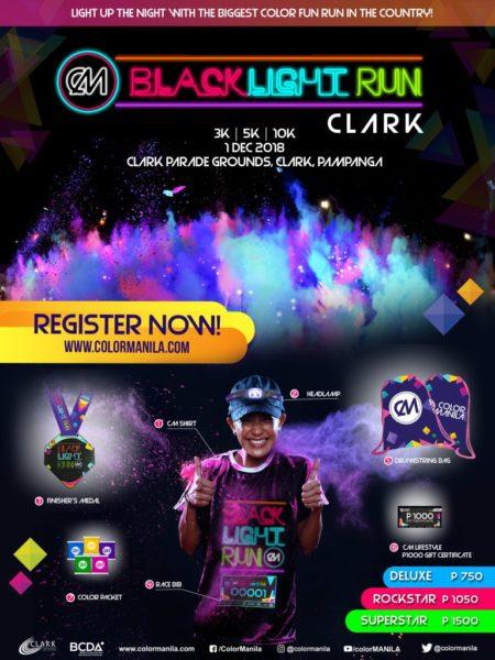 CM Black Light Run 2018 Clark