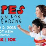 McDonald's Stripes Run 2018 1/3/5/10K (MOA)