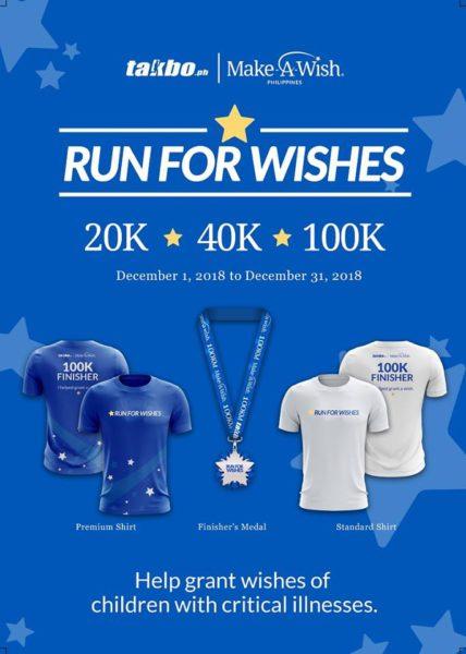Run For Wishes Virtual Run 2018