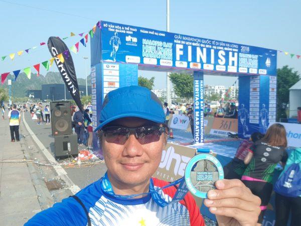 Halong Bay Marathon Finish Line