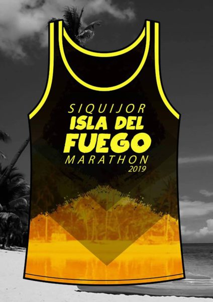 SIQUIJOR ISLA DE FUEGO MARATHON 2019 Singlet