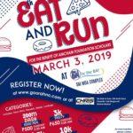 Eat and Run 8th Schola Run 2019