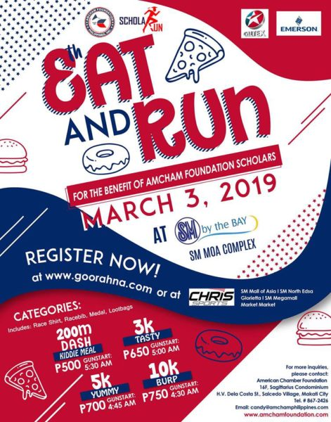 Eat and Run 8th Schola Run 2019