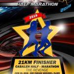 Cabalen Half Marathon 2019 Trophy