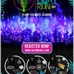 Color Manila Blacklight Run 2019