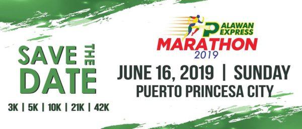 Palawan Express Marathon 2019 Poster